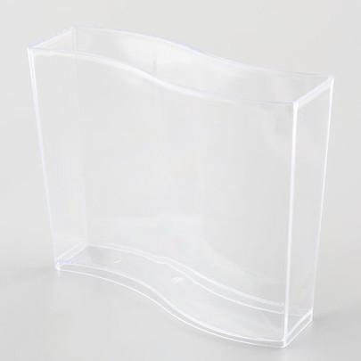 Vase vague Plexiglas Cristal haut 15 cm