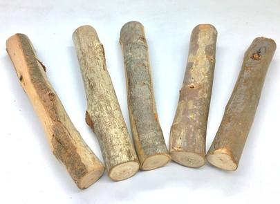 Bois d'Eucalyptus de 15 cm par 5 pièces