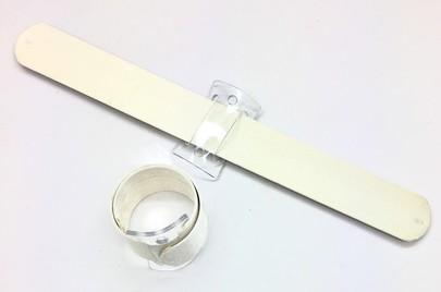 Bracelet Wrap OASIS Ivoire aimanté pour décor de poignet.