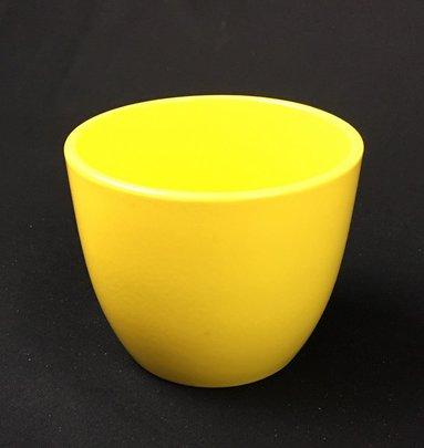 Pot Céramique Jaune Brillant PM