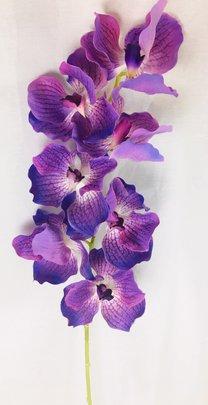 Mini ORCHIDEE PHALAENOPSIS VIOLETTE ARTIFICIELLE