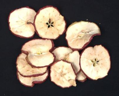 Tranches de Pomme rouge Séchées.