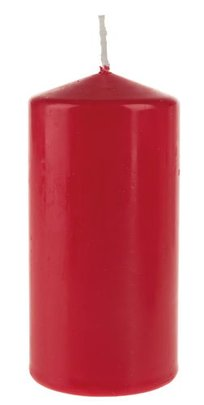 BOUGIES Cylindres ROUGES X 4