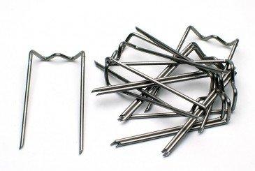 Epingle-Agrafe ondulée pour Mousse par 50 pièces