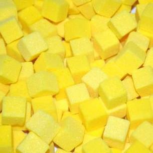 Mini cube OASIS coloris JAUNE SOLEIL