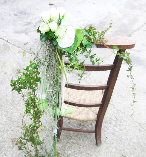 d cor chaise eglise mat riel d 39 art floral et conseils pour la d coration florale. Black Bedroom Furniture Sets. Home Design Ideas