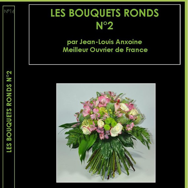 Dvd cours dart floral n16 bouquet ronds n2
